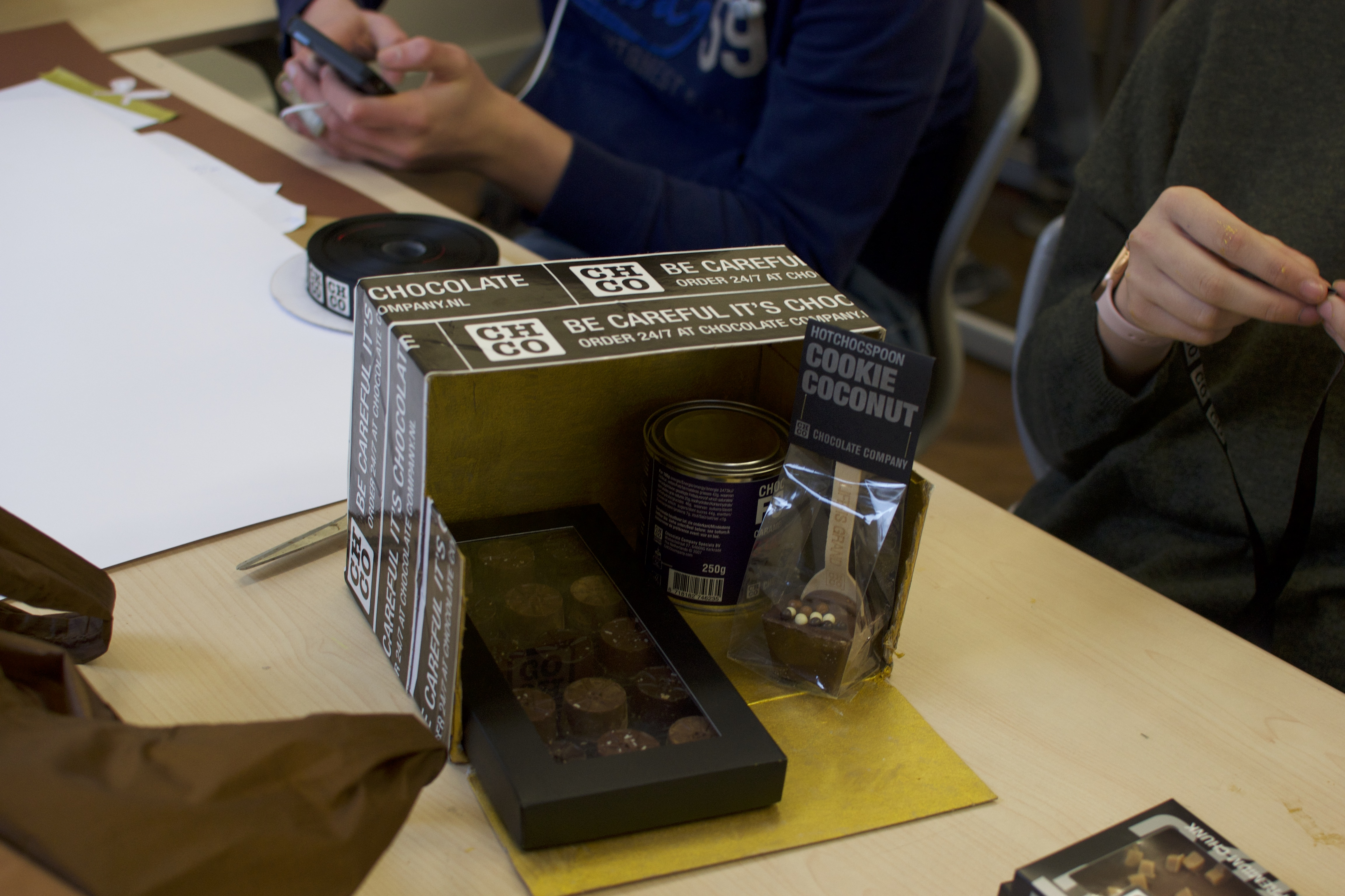 Eigen Chocolate Company doosje maken voor je eigen product/markt combinatie.