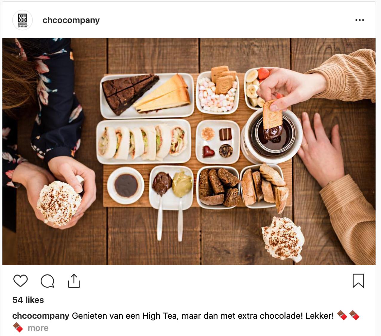 High Tea met Chocolade! Chocolate Company Cafe, de plek te zijn!